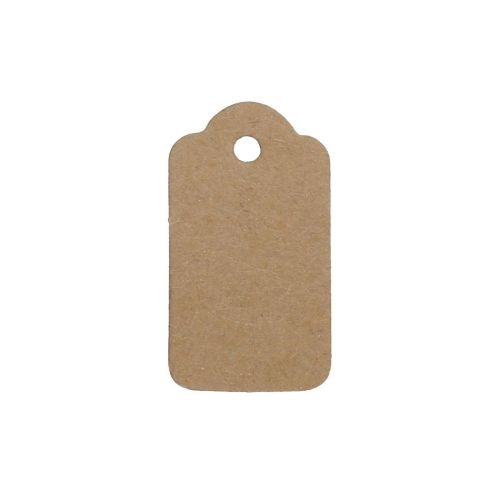 Labels for jewellery / rectangular / decorative / 33x18mm / cardboard / 20pcs