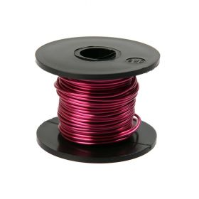 Bright Violet Coloured Copper Craft Wire 0.9mm 8metre Reel