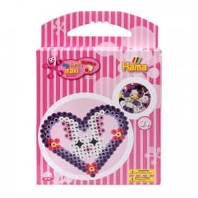 Hama Beads My First Hama Bead Set Heart Maxi Gift For Age 3+