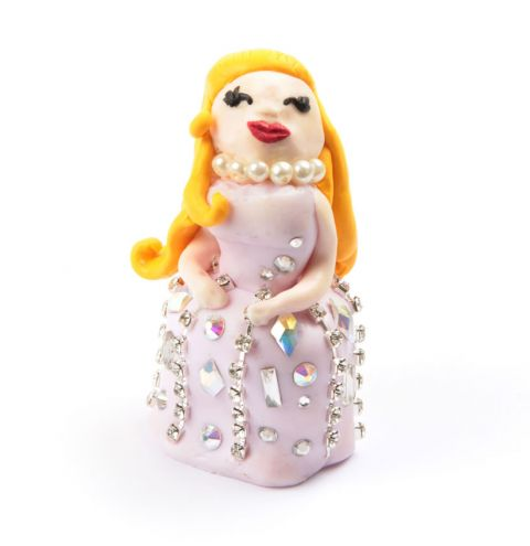 Princess Sparkle Fimo