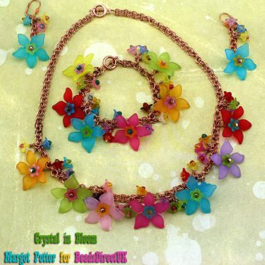 Crystal in Bloom Jewellery Set