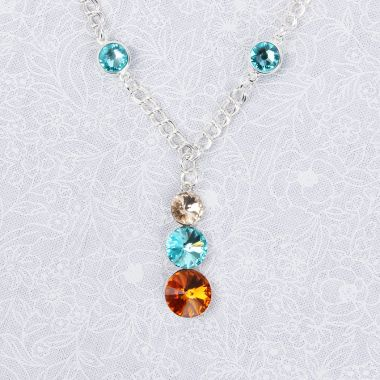 Sunshine Droplet Necklace | Festival Jewellery