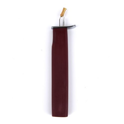 Pearl/Bead Knotter Tool with Burgundy Wood Handle Pk1