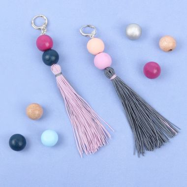 Summer Sorbet Tassel Earrings