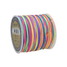 Macrame ™ / Macrame cord / nylon / 0.8mm / multicolour / 100m