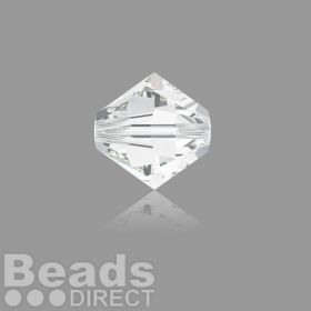 5328 Swarovski Crystal Bicones 4mm Crystal Clear Pk1440
