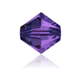 5328 Swarovski Crystal Bicones 6mm Purple Velvet Pk360