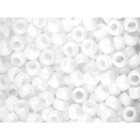 TOHO ™ / Round 8/0 / Opaque / White / 10g / ~ 300pcs