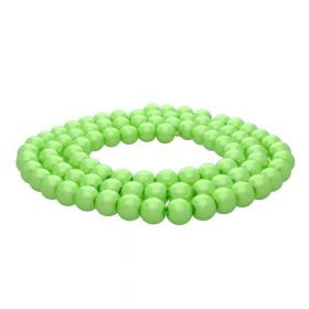 SeaStar ™ / round / 10mm / neon green / 90pcs