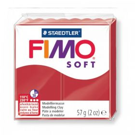 Staedtler Fimo Soft Polymer Clay Christmas Red 57g (2oz)