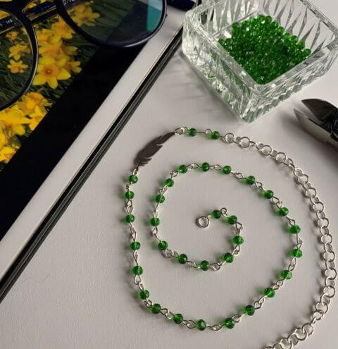 How to make a CrystaLove™ Spring Necklace - Beginners Jewellery Making Tutorial
