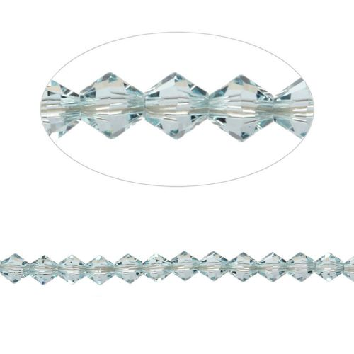 5328 Swarovski Crystal Bicones 4mm Light Azore Pk24