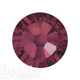 2088 Swarovski Crystal Flat Backs Non HF 7mm SS34 Burgundy F Pk144