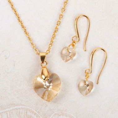 Golden Heart Jewellery