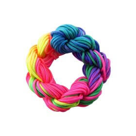 Mcord ™ / Macramé cord / nylon / 1mm / multicolor / neon / 27m