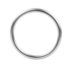 Nunn Design Silver Plated Hoop Charm/Connector 24mm Pk1