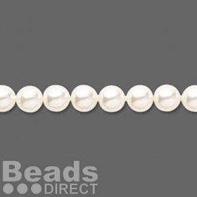 5810 Swarovski Glass Pearls 6mm Cream Rose Light Pk50