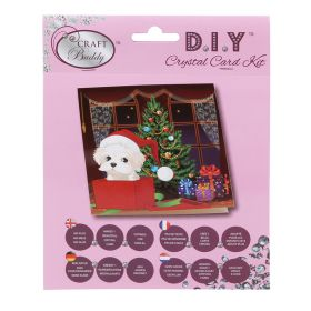 Beads Direct 'Puppy for Christmas' Crystal Card Kit