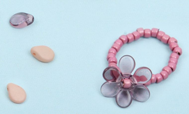 Pip Flower Ring | Mini-Make