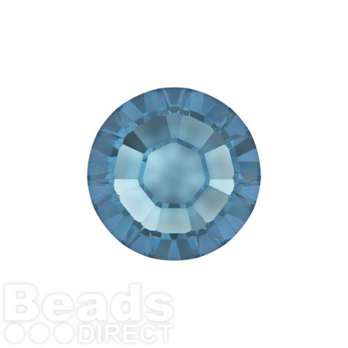 2078 Swarovski Crystal Hotfix Round 4mm SS16 Denim Blue A HF Pk1440