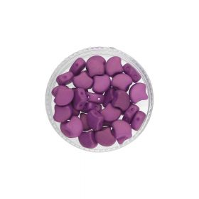 GINKO™ / 7.5x7.5mm / Chatoyant / Violet / 5g / ~20pcs