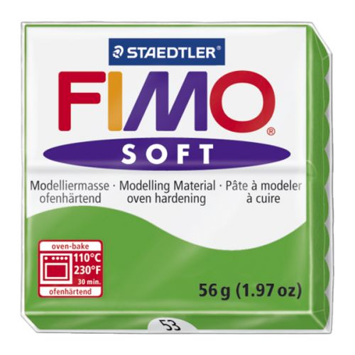 Staedtler Fimo Soft Polymer Clay Tropical Green 56g (1.97oz)