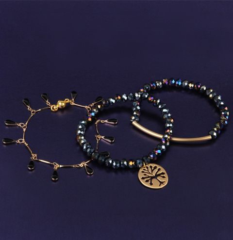 Midnight Forest Bracelet Collection