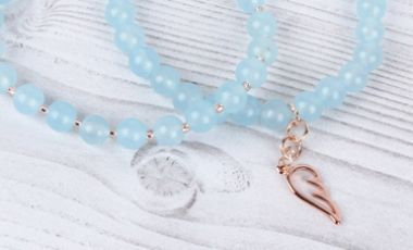 Sky Blue Bracelets | Mini-Make Monday