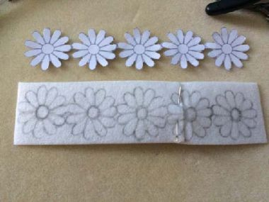 Daisy Chain Headband - by Poppy Byford