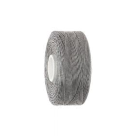 Beadalon ™ / thread NYMO / nylon / B / Grey / 65m