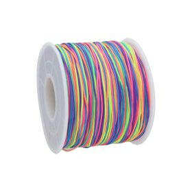 Macramé™ / Macramé cord  / nylon / 0.6mm / multicolor / 135m