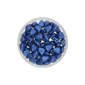 NIB-BIT™ / 6x5mm / Metallic Suede / Blue / 5g / ~27pcs