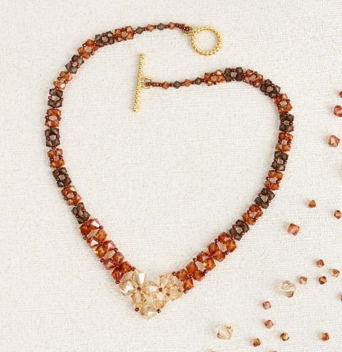 Copper Glow Necklace