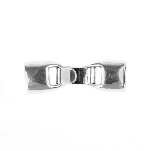 X-Sterling Silver 925 Hook Clasp for Thin Regaliz 4.5x7mm Pk1