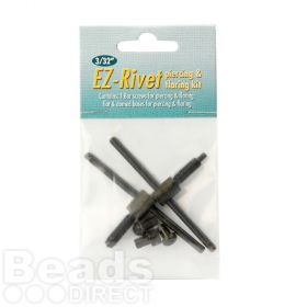 "Beadsmith EZ-Rivet 3/32"" Piercing and Flaring Kit Pk1"