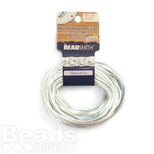 Rattail Apparition 2mm 4 Colours 4x3yds