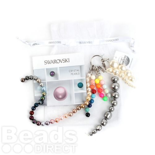 6988 Swarovski Crystal Glass Pearls Sales Tool All Colours