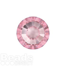 2078 Swarovski Crystal Hotfix Round 4mm SS16 Light Rose A HF Pk1440