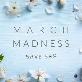 50% off March Madness