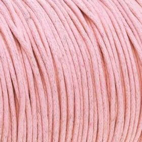 Waxed cord / 1.5mm / 1M / pink