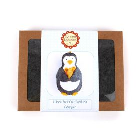 Corinne Lapierre Mini Penguin Felt Craft Kit