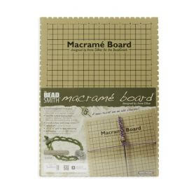 "Large Macrame Braiding Board 11.5x15.5"" Pk1"