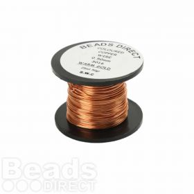Craft Wire Warm Gold 0.5mm 25m Reel