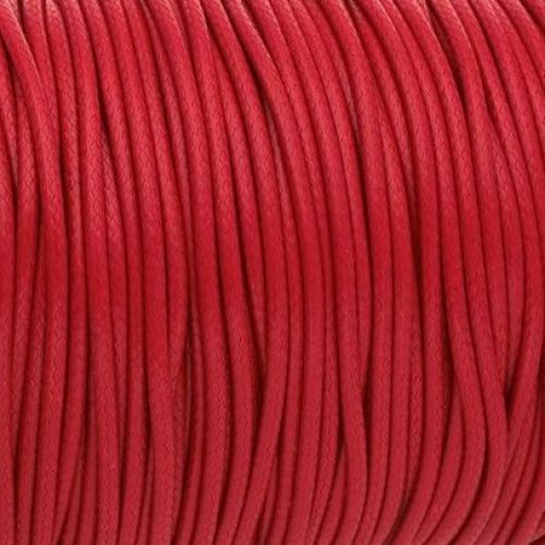 Coated twine / 3.0mm / red / 1m