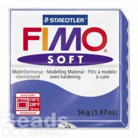 Staedtler Fimo Soft Polymer Clay Brilliant Blue 56g (1.97oz)