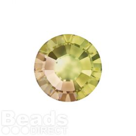 2078 Swarovski Crystal Hotfix Round 4mm SS16 Crystal Luminous Green A HF Pk1440