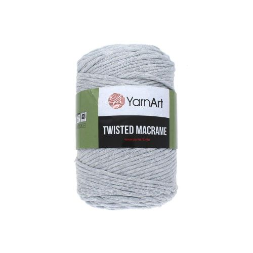 YarnArt ™ Macrame Twisted / cord / 60% cotton, 40% viscose and polyester / colour 756 / 500g / 210m