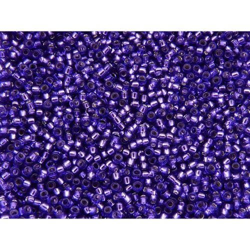 TOHO ™ / Round 15/0 / Silver-Lined / Purple / 10g / ~ 1400pcs