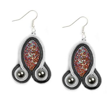 Soutache Shine Earrings