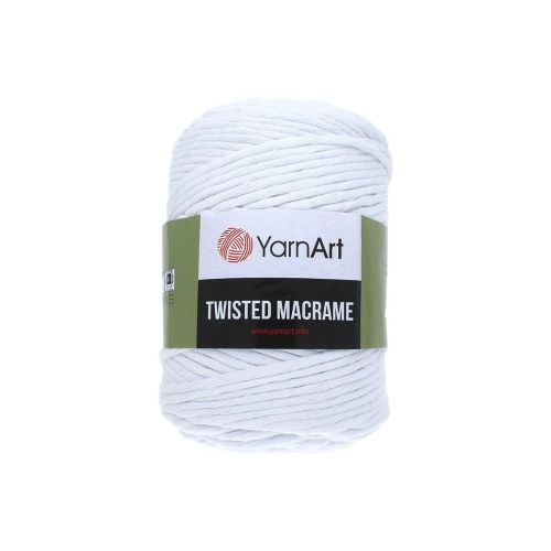YarnArt ™ Macrame Twisted / cord / 60% cotton, 40% viscose and polyester / colour 751 / 500g / 210m